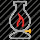 kerosene lantern, lantern, lantern lamp, oil lantern icon