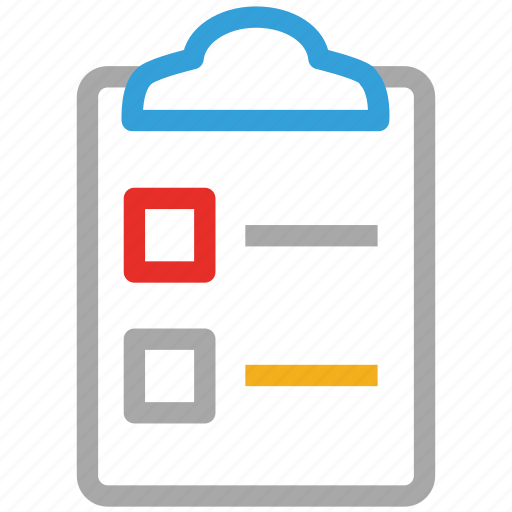 clipboard, document, file, sheet icon