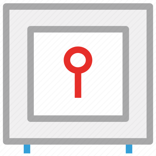 locked, safe, safe box, secure icon