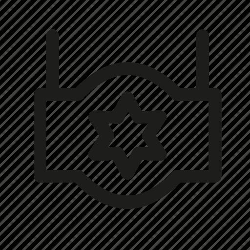 david, index, indicator, pointer, star icon