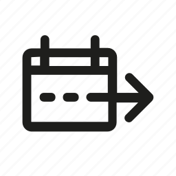 airport, arrow, departure, lines, right, sign icon