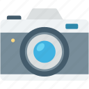 camera, digicam, digital camera, flash camera, photography icon