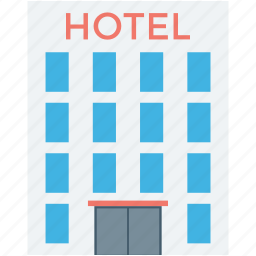 building, guest house, hotel, hotel building, luxury hotel icon