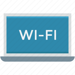 internet connection, laptop, wifi connection, wifi zone, wireless internet icon
