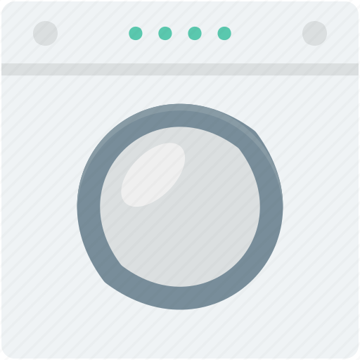 electrical appliance, electronics, home appliance, laundry machine, washing machine icon