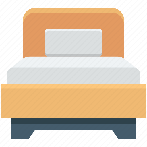 bed, bedroom, bedstead, rest, sleeping icon