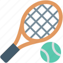 ball, game, racket, tennis, tennis racket icon