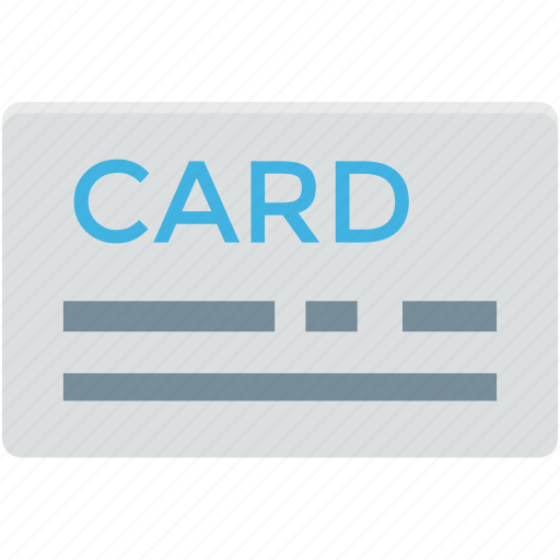 atm card, credit card, debit card, plastic money, smart card icon