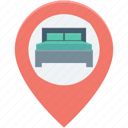 hotel location, location map, location pin, map locator, map pin icon