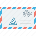 letter, letter envelope, mail letter, post envelope, post letter icon