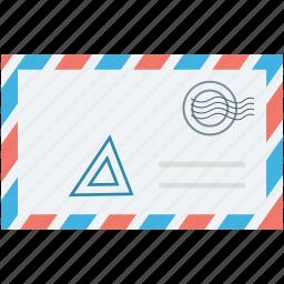 letter, letter envelope, mail letter, post envelope, post letter icon