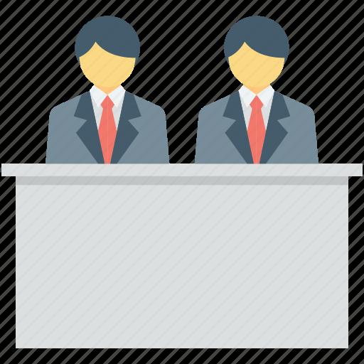 customer service, front desk, help desk, hotel reception, reception icon