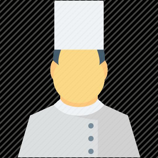 chef, chef avatar, cook, occupation, restaurant staff icon