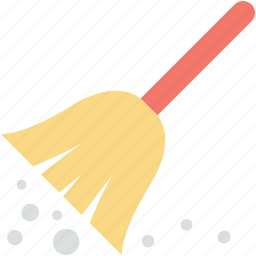 broom, clean, cleaning, mop, sweeping brush icon