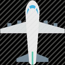 aircraft, airplane, aviation, flight, plane jet icon