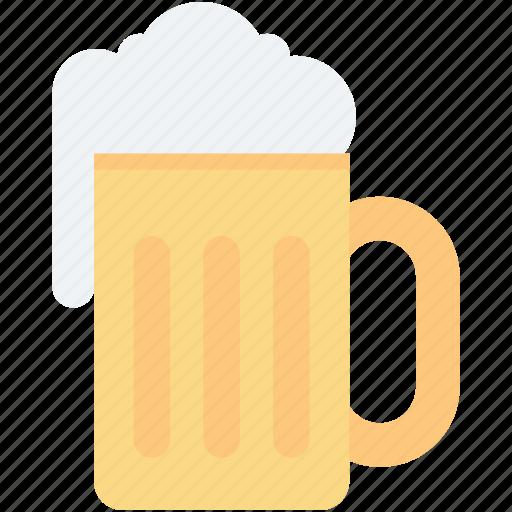 beer, beer mug, beer pint, chilled beer, drink icon