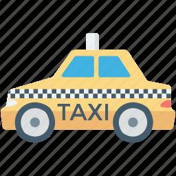 cab, car, taxi, taxi van, vehicle icon