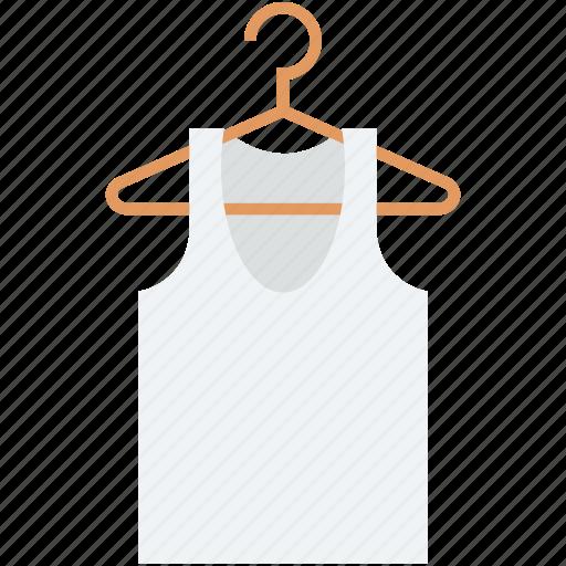 cloth, cloth hanger, dress hanger, undergarments, vest icon