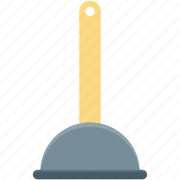 bathroom, bathroom pump, plumbing, plunger, tool icon