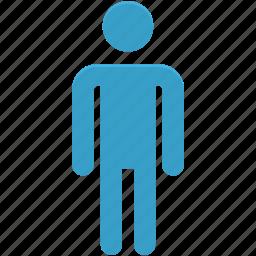 male, male gender, men, men bathroom, men restroom icon