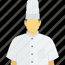 chef, chef avatar, cook, occupation, restaurant staff