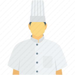 chef, chef avatar, cook, occupation, restaurant staff icon