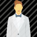 female waiter, hotel services, hotel staff, waiting staff, waitress icon