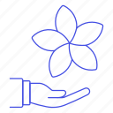 chill, flower, from, hand, holiday, hotel, out, relaxation, service, spa, trip, vacation icon