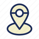hotel, location, placeholder, service, stay, travel icon