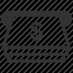 atm, cash, cash machine, dollar, finance, money, payment icon