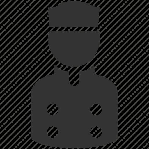 account, avatar, bellboy, chef, concierge, hotel, waiter icon