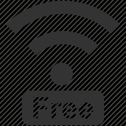 facility, free internet, free wifi, internet, signal, wifi, wireless icon