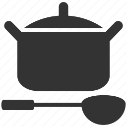 cook, cooking, dinner, food, kitchen, pot, restaurant icon