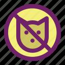 animal, animals, cat, dog, forbidden, no, pet