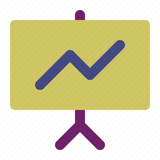 display, hall, meeting, monitor, presentation, projector, screen icon