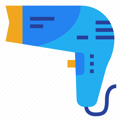 Blower, dryer, hair, hairdryer, salon icon - Download on Iconfinder