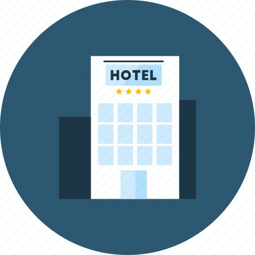 buildings, holidays, hostel, hotel, transport, travel, vacations icon