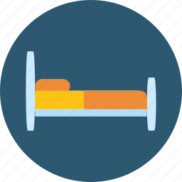 bed, estate, furniture, hostel, hotel, house, sleeping icon