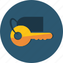 close, hotel, key, keys, open, room, tool icon