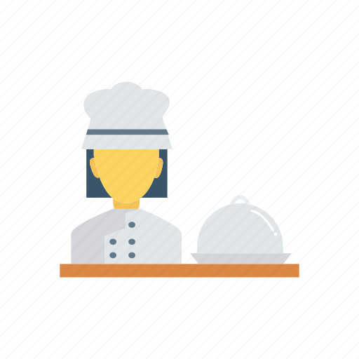Chef, cook, female, resturant icon - Download on Iconfinder
