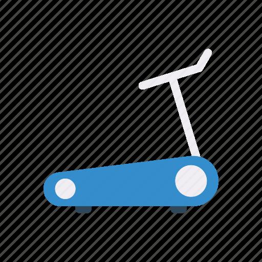 fitness, gym, machine, running icon