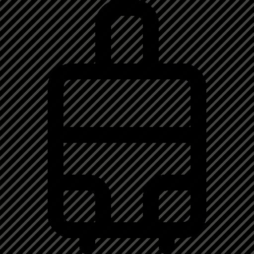 bag, hotel, luggage, suitcase, travel icon