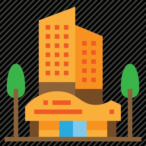 apartment, building, condominium, hotel icon