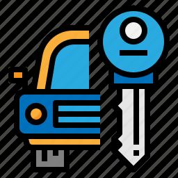 car, hire, rent, vehicle icon