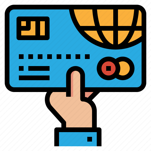 business, card, money, payment icon