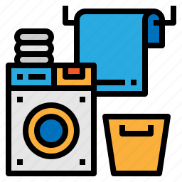 clothes, laundry, service, wash icon