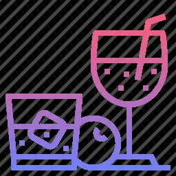 bar, cocktail, drink, wine icon
