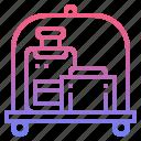 baggage, luggage, storage, tourist icon