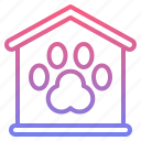 animal, pet, registration, service icon
