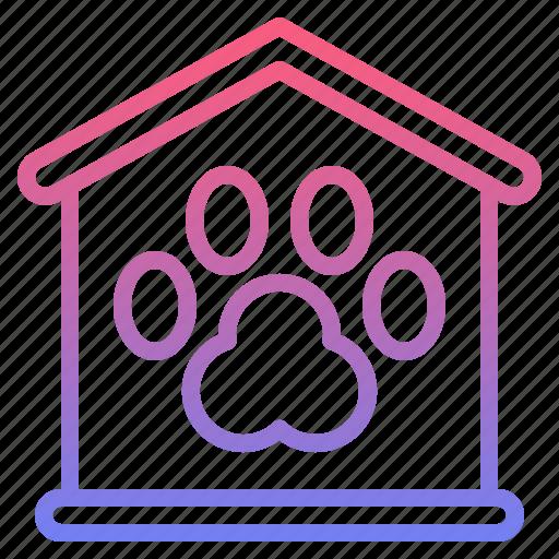 animal, pet, registration, service icon